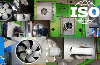 Fans - Performance testing using standardized airways ISO 5801